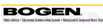 Bogen Business Intercom Systems